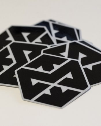 Motonosity Reflective Sticker - Black