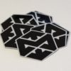 Motonosity Reflective Sticker - Black