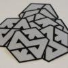Motonosity Reflective Sticker - Silver