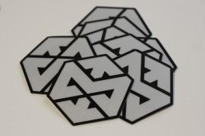 Motonosity Reflective Sticker – Silver